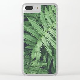 Fern Bush Nature Photography | Botanical | Plants Clear iPhone Case