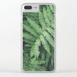 Fern Bush Nature Photography | Botanical | Plants Clear iPhone Case