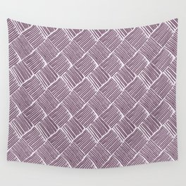 Lavender Weave Wall Tapestry