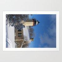 McGulpin Point Lighthouse Art Print