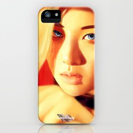 Rosé - Black Pink (Square Two) iPhone Case