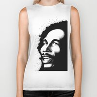 marley Biker Tanks featuring Marley by Mr Shins