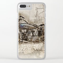 Indian Prince 1928 Clear iPhone Case