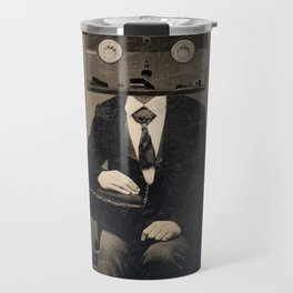 Faces of the Past: VHS Travel Mug