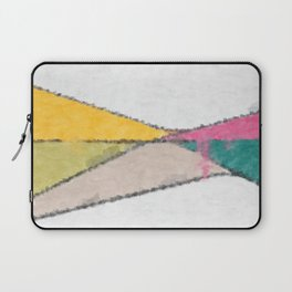 Stained Glass Landscape Laptop Sleeve