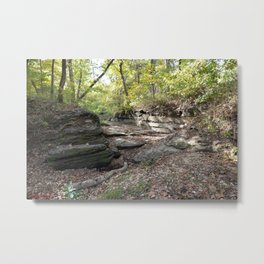 Hanging Rock & Peavine Hollow Series, No. 24 Metal Print