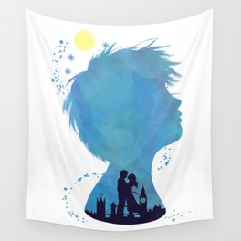 I am Finding Neverland Wall Tapestry