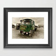 The Foden Wagon Framed Art Print