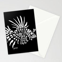 Lionfish - marine fish - pterois - tatoo Stationery Cards
