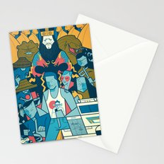 Big Trouble Stationery Cards