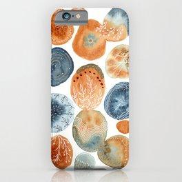 Watercolor improvisation 13 iPhone Case