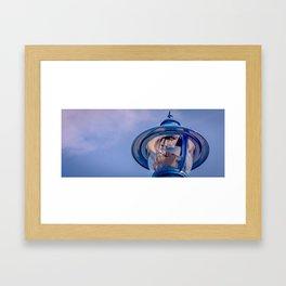 up light... Framed Art Print
