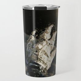 floating in the abyss Travel Mug