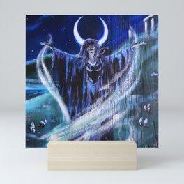 """Goddess Macha"" by Rev. Paul Messerle, HP Mini Art Print"