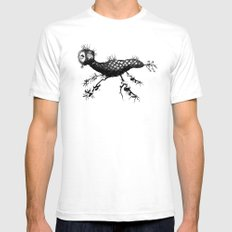 Acorn Creature Mens Fitted Tee White SMALL