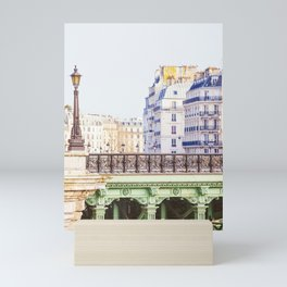 Paris Seine River View - Travel Photography Mini Art Print