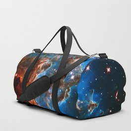 Monkey Head Nebula Duffle Bag