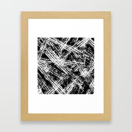 Desert Tracks Framed Art Print