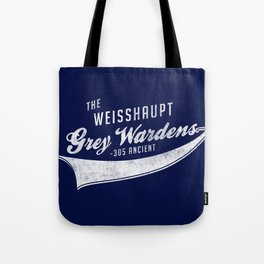 Weisshaupt Grey Wardens Tote Bag