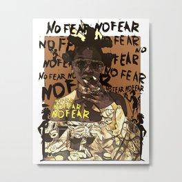 Bantu No Fear Metal Print