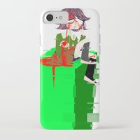 chihiro iPhone & iPod Cases featuring Chihiro Fujisaki by hellokittyloli