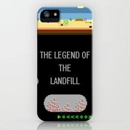 The Landfill Legend iPhone Case
