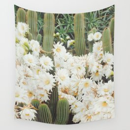 Cactus and Flowers Wall Tapestry
