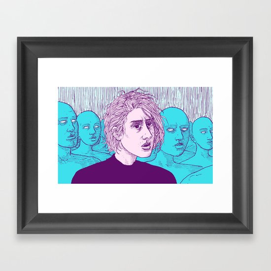 """Lysandre"" by Austin James Framed Art Print"