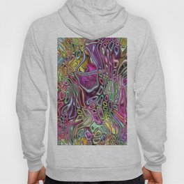 Flowers and candy abstract Hoody