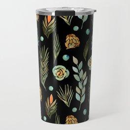 Autumn Flowers 2 Travel Mug