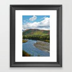 Mountain River #1 Framed Art Print