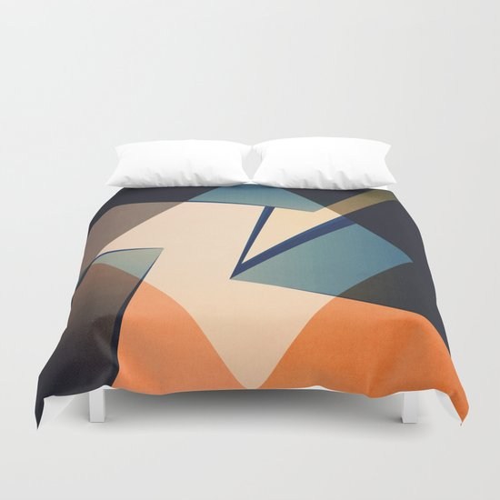 Abstract #103 Duvet Cover