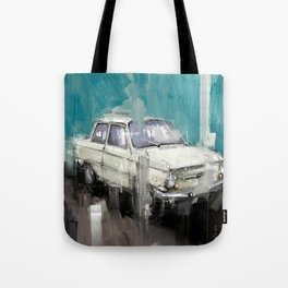 old whitey and still running Tote Bag