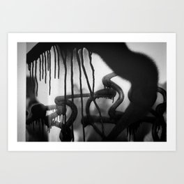 Drip Classic Art Print