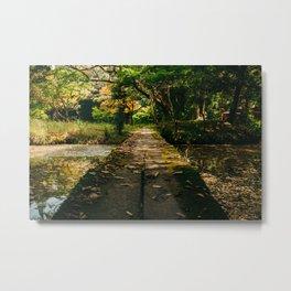 Usa Shrine Bridge Metal Print