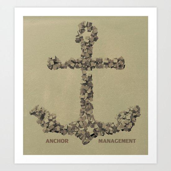 Anchor Management Art Print