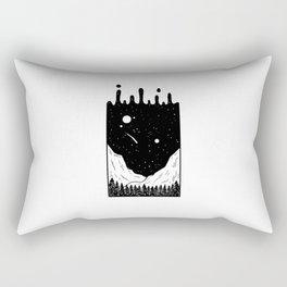 Ciel coulant Rectangular Pillow