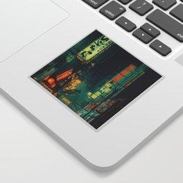 Tokyo Nights / Memories of Green / Blade Runner Vibes / Cyberpunk / Liam Wong Sticker