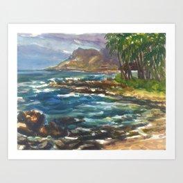 Hawaii - Maui Paradise Cove Art Print