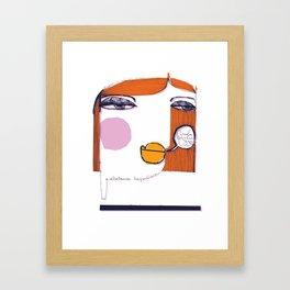 Nuda_1 Framed Art Print