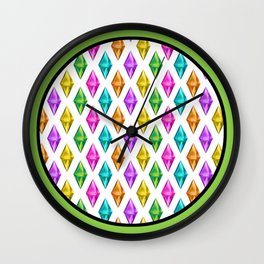 Diamond Plumbob Wall Clock