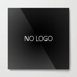 no logo Metal Print