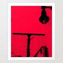 Washing Away Night Sins Art Print