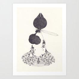 Sif Art Print