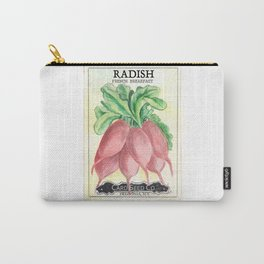 Radish Seed Packet Carry-All Pouch