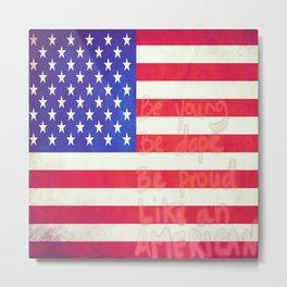 Like An American Metal Print