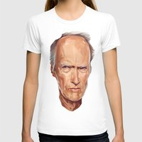 clint eastwood T-shirts featuring Clint Eastwood by Viktor Miller Gausa