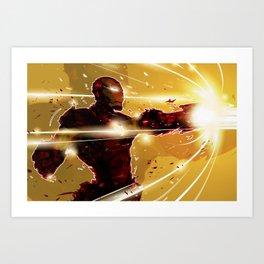ka-boom Art Print
