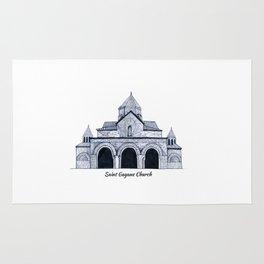 Saint Gayane Church Rug