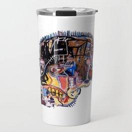 Skull II Homage to Basquiat Travel Mug